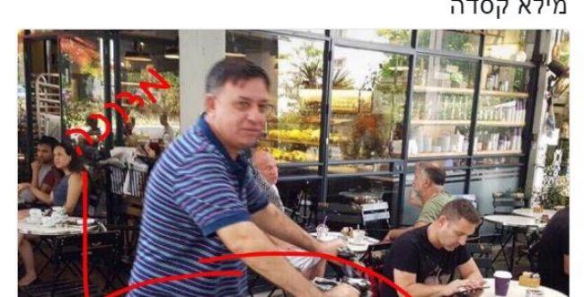 תיעוד מביך • אופס: אבי גבאי תקף אך שכח דבר אחד