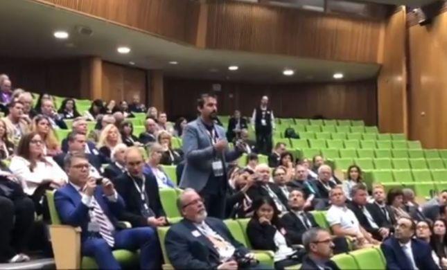 """צפו: העיתונאי הנוצרי הפתיע את יו""""ר הכנסת"""