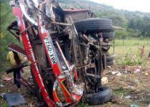 קניה: 42 הרוגים בתאונת דרכים באוטובוס
