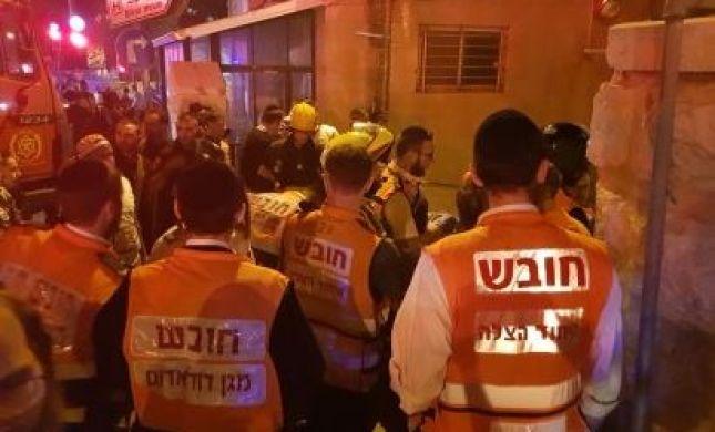 הפצוע בשריפת המלונית בירושלים נפטר מפצעיו