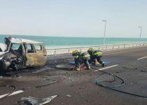 חשד: הנהג האחראי לאסון ים המלח השתמש בסמים