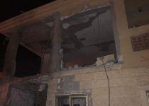 טיל שנורה מעזה פגע בבית בבאר שבע