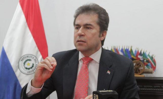 """פרגוואי הודיעה: """"החזרת השגרירות לת""""א היא סופית"""""""
