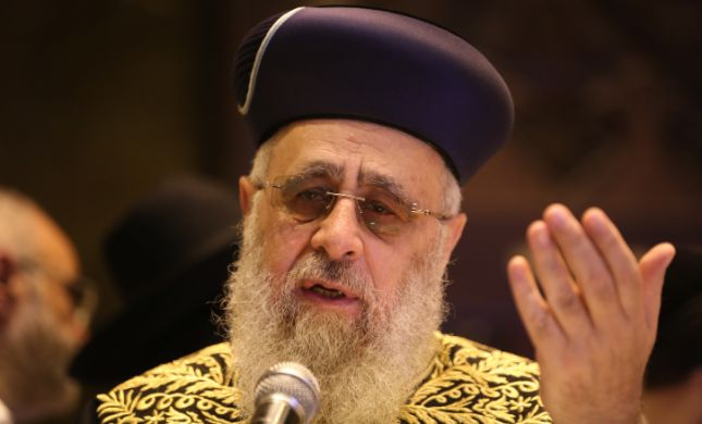 הרב הראשי חשף: ההצעה ההזויה של רון חולדאי