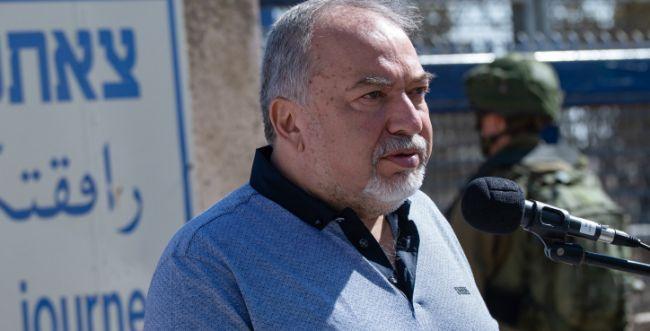 """ליברמן על סערת חאן אל אחמר: """"תהליך בלתי הפיך"""""""