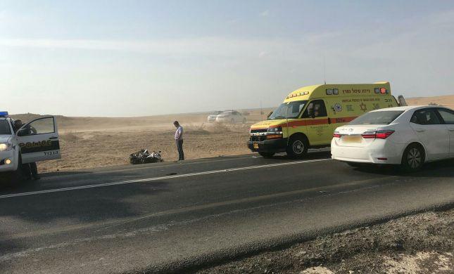 שבוע קשה בכבישים: בן 20 נהרג בתאונת אופנוע