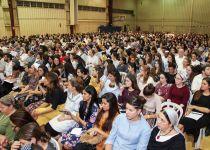 תיעוד: אלפים בליל הושענא רבה באוניברסיטת בר- אילן