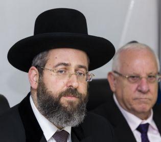 הרבנות הראשית לישראל, יהדות, מבזקים הרב הראשי לישראל נגד אריה דרעי