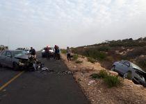 צפון השומרון: 3 פצועים בתאונת דרכים קשה