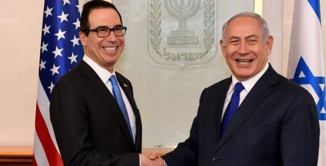 """שר האוצר האמריקני: """"אין לנו שותפה טובה מישראל"""""""