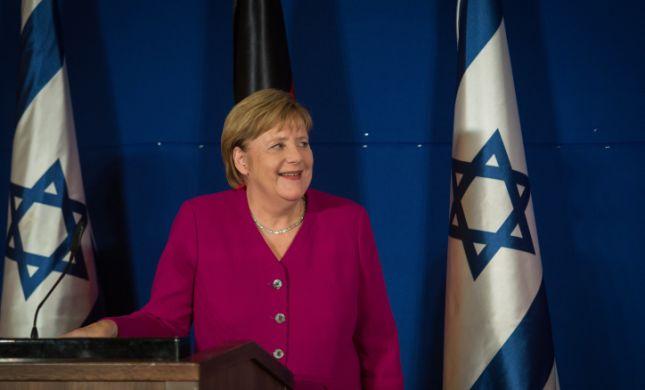 """מרקל: """"אין מוסד יהודי אחד בגרמניה שלא צריך אבטחה"""""""
