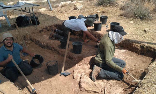 חפירה ארכיאולוגית מצאה מבנה מימי בית חשמונאי