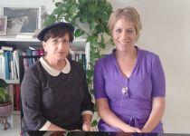 בתו של הרב עובדיה בירכה את מועמדת הבית היהודי ברחובות