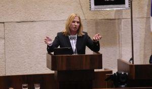 חדשות, חדשות פוליטי מדיני, מבזקים לבני תקפה את היהדות- ובנט יצא במחאה מנאומה