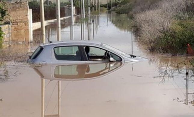 סערה באיטליה: 12 הרוגים בשיטפונות בסיציליה