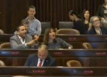 צפו: בנט מוציא מהכלים את חברי הכנסת מהשמאל