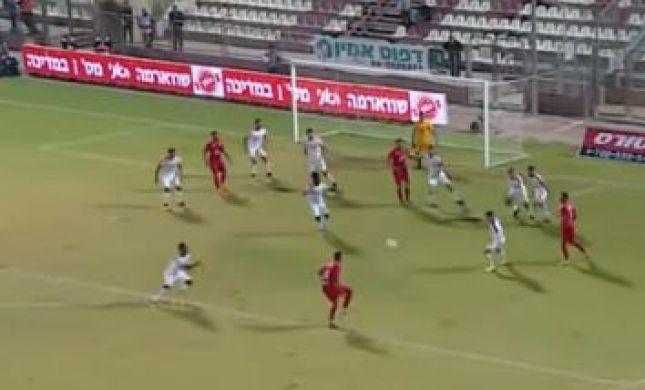 מבול של שערים במשחק התחתית בליגת העל. צפו