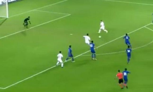 ערן זהבי כבש; נבחרת ישראל ניצחה 7-0. צפו