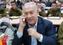צפו: נתניהו ב'שיחה בהפתעה' לאמא של חייל