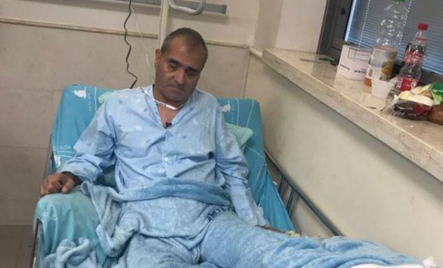 מחדל של רכבת ישראל גרם לעיוור לאבד את כף רגלו