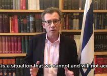 """דובר משרד החוץ: """"לא ניתן לחמאס להמשיך במתקפה"""""""