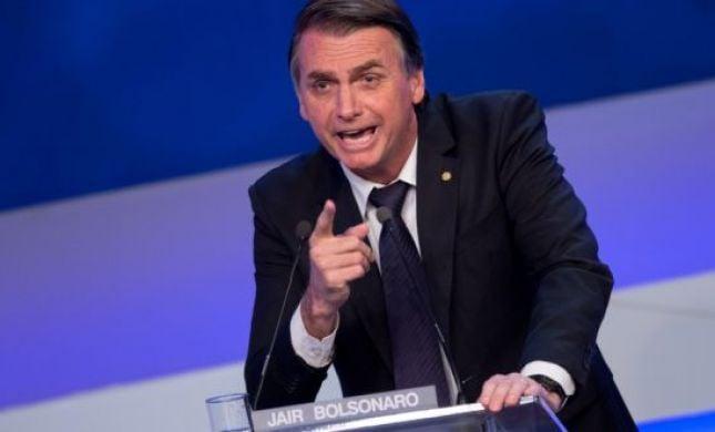 לאחר שזלזל במגפה: נשיא ברזיל נדבק בנגיף הקורונה