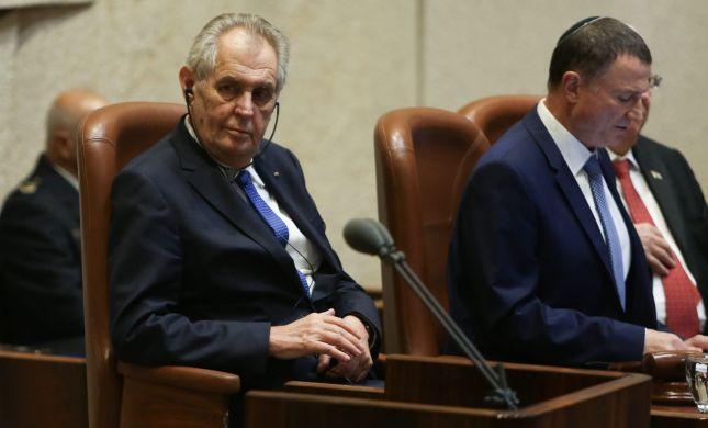 """הפרלמנט בצ'כיה: """"מגנים כל צורה של אנטישמיות"""""""