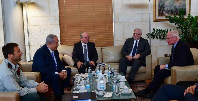 נתניהו נפגש עם השליח האמריקני לנושא סוריה