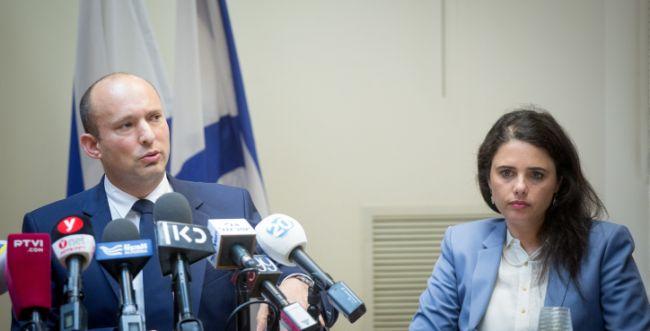 """גורמים בבית היהודי: """"בנט ושקד יודיעו על התפטרותם"""""""