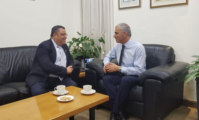לראשונה מזה 4 שנים: שר האוצר נפגש עם ראש עיריית ירושלים