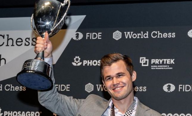 עדיין האלוף: קרלסן שמר על הכתר העולמי בשחמט