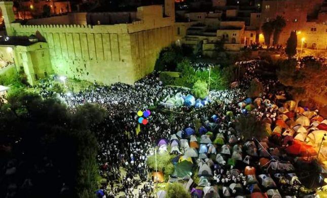מדהים: 40,000 משתתפים בשבת חברון