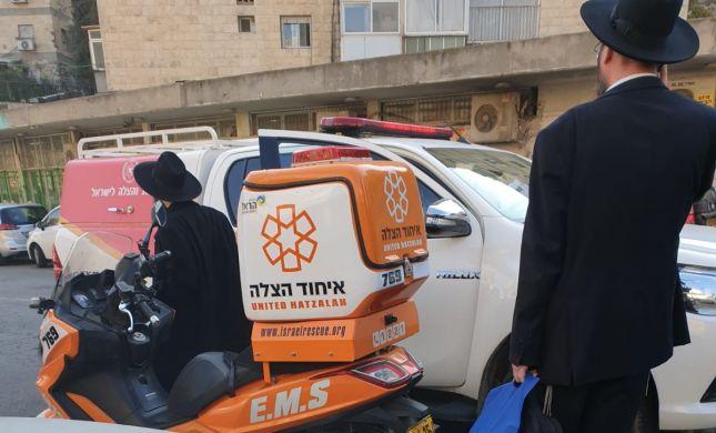 11 פצועים בשריפה במבנה בירושלים, מצבם בינוני-קל