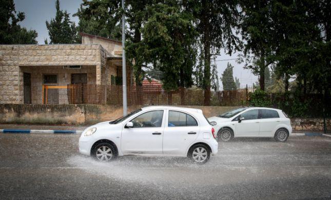 תתכוננו: גשמים ומזג אוויר סוער צפוי בכל הארץ