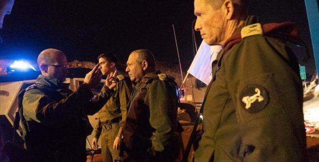 אייזנקוט בזירת הפיגוע: יתוגברו כוחות בתקופה הקרובה