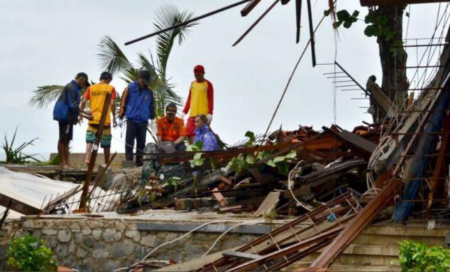 אסון טבע נוסף: רעידת אדמה פגעה באינדונזיה