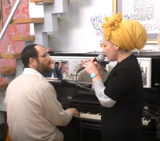 מוזיקה, תרבות כמו בימים הטובים: אהרן וריקה רזאל בדואט• צפו