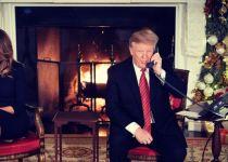 צפו: טראמפ לועג לילד שמאמין בסנטה קלאוס