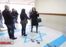 זעם בישראל: שרה בירדן דרכה על הדגל הישראלי