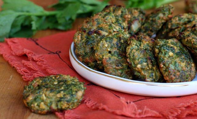 השיא של חנוכה בשבילכם: לביבות ירק אפויות