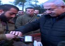 צפו: נתניהו מלמד את הלוחמים להכין קפה