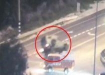 צפו: שלושה לוחמים נפצעו בהתהפכות ג'יפ צבאי