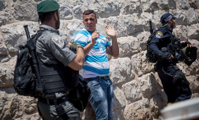 נעצר פלסטיני החשוד בגניבת רכב ופריצת מחסום