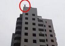 טרגדיה באוקראינה: נער קפץ מבניין עם מצנח- ונהרג