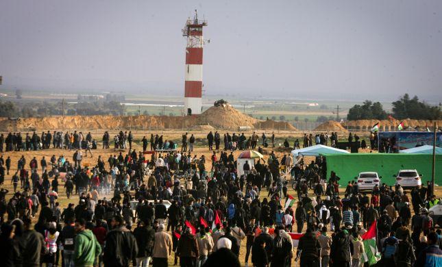 עימותים אלימים בגבול עזה: ארבעה פלסטינים נהרגו