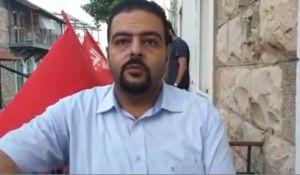 """חדשות, חדשות פוליטי מדיני, מבזקים מחאה בחיפה נגד הסגן הערבי: """"אל תאשר לו שכר"""""""