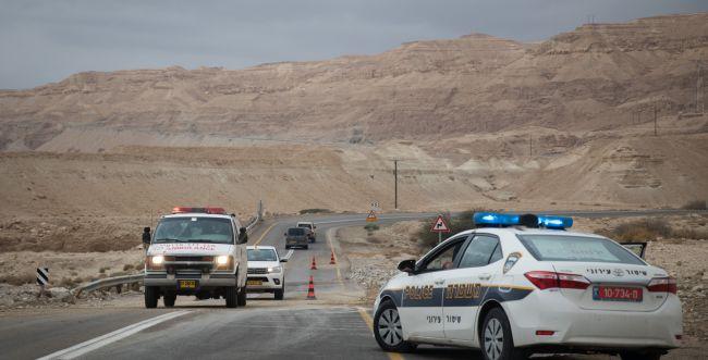 תאונת דרכים קטלנית בערבה: הרוג ושני פצועים