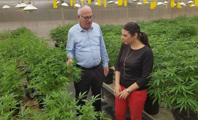 שר החקלאות אורי אריאל: ישראל היא מעצמת קנאביס