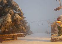עקב השלג הכבד: אתר החרמון ייסגר למבקרים