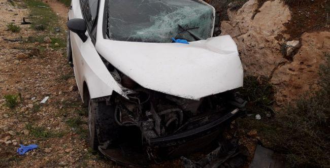שבעה פצועים בתאונה קשה סמוך לעפרה